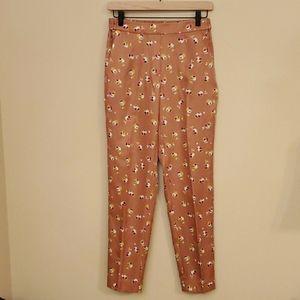 J. Crew Women's Pull-On Patterned Pants